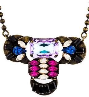 Dannijo Crystal Pendant Necklace