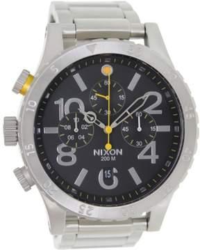 Nixon 48-20 Chrono Watch - Men's Black, One Size