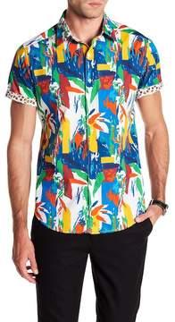 Robert Graham Lakelane Printed Classic Fit Shirt