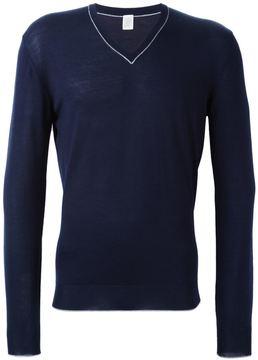 Eleventy v-neck jumper