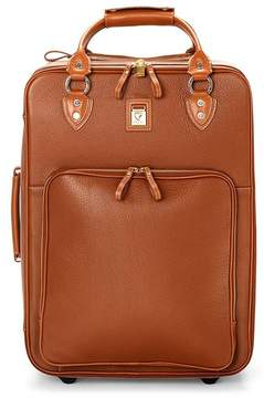 Aspinal of London Large Cabin Case In Tan Pebble