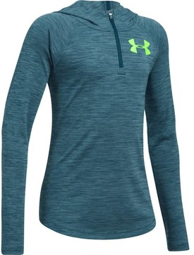 Under Armour Girls 7-16 Novelty Tech 1/4-Zip Hoodie