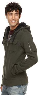 Rock & Republic Men's Miltary Hoodie