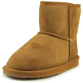 Emu Stinger Mini Women Round Toe Suede Brown Winter Boot.