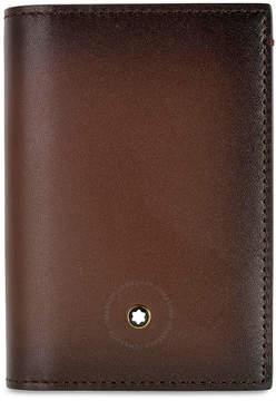 Montblanc Meisterstuck Sfumato Business Card Holder - Brown