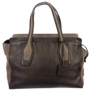 Tod's Bicolor Leather Tote