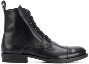 Ann Demeulemeester lace-up ankle boots
