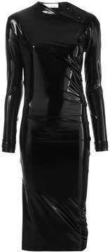 A.F.Vandevorst wet look bodycon dress