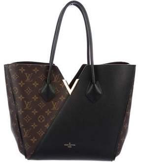 Louis Vuitton Monogram Noir Kimono Tote