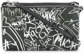 MICHAEL Michael Kors graffiti cross body bag