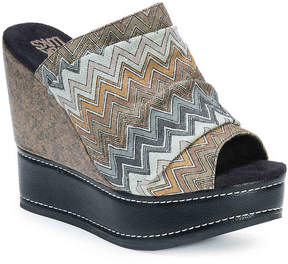 Muk Luks Women's Peyton Wedge Sandal