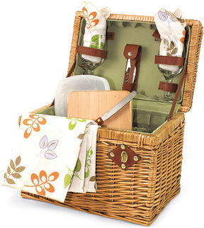 Asstd National Brand Picnic Time Napa-Botanica Wine Picnic Basket