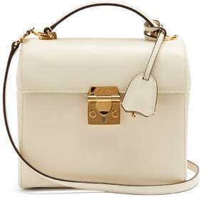 Mark Cross Sara Saffiano Leather Bag - Womens - Ivory
