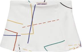 Bobo Choses Off-White Tennis Court Skirt