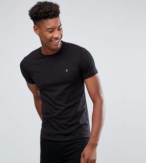 Farah TALL Farris Slim Fit T-Shirt in Black
