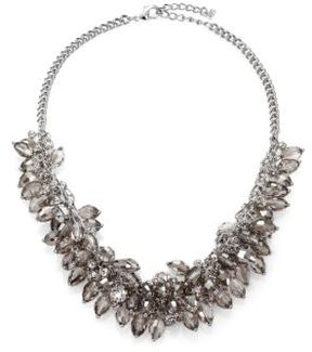 ABS by Allen Schwartz Briolette Fringe Bib Necklace