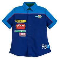 Disney Lightning McQueen Mechanic Shirt for Boys