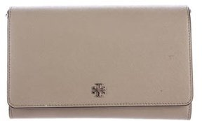 Tory Burch Robinson Wallet On Chain - GREEN - STYLE