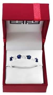 Effy Royale Bleu 14K White Gold, Sapphire & Diamond Ring