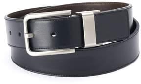 Apt. 9 Men's Cut-Edge Stitched Reversible Belt