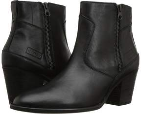 Hunter Refined Zip Boot Leather Women's Boots