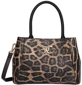 Juicy Couture Dawson Leopard Print Satchel