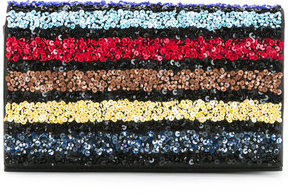Alice+Olivia sequined clutch