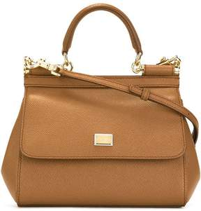Dolce & Gabbana small Sicily shoulder bag - BROWN - STYLE