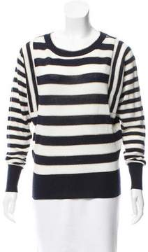 Ellen Tracy Striped Knit Sweater