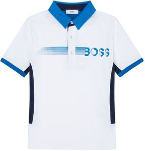 HUGO BOSS Speed Logo Motif Polo Shirt