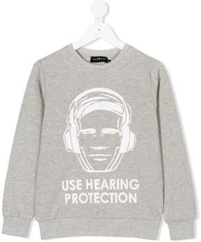 John Richmond Kids hearing protection sweatshirt