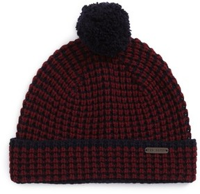 Ted Baker Men's Walhat Knit Beanie - Red
