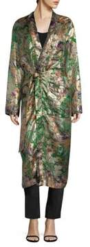 Etro Tropical Embroidered Robe Jacket