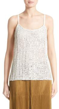 Simon Miller Perforated Leather Top