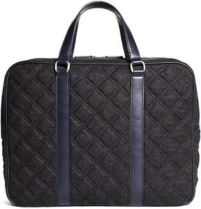 Brooks Brothers Quilted Briefcase