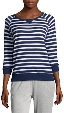 Beyond Yoga Women's Striped Crewneck Sweatshirt