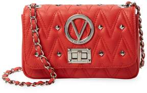 Mario Valentino Valentino by Women's Noelled Sauvage Leather Crossbody Bag