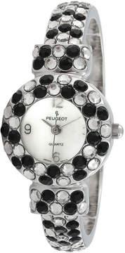 Peugeot Womens Silver Tone Bangle Watch-326bk