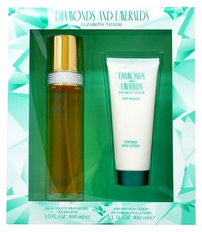 Elizabeth Taylor Diamonds and Emeralds by Women's Fragrance Gift Set- 2pc