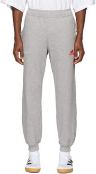 Gosha Rubchinskiy Grey adidas Originals Edition Logo Lounge Pants