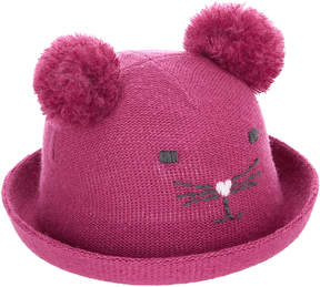 Monsoon Baby Pom Pom Mouse Bowler Hat