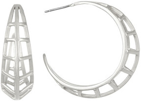 Botkier Cage 44mm C-Hoop Earrings