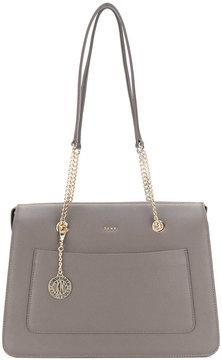 DKNY charm detail tote bag