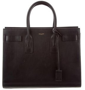 Saint Laurent Large Sac De Jour - BLACK - STYLE