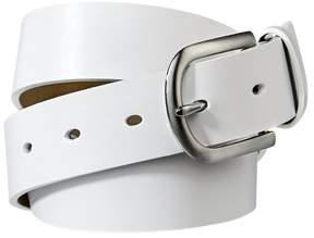 Merona Women's Smooth Belt - White