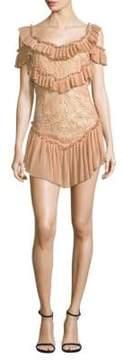 Alice McCall Lovebirds Short Ruffle Dress