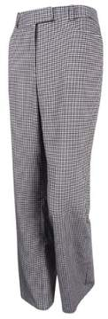 Tommy Hilfiger Women's Princeton Houndstooth Boot-Legs Trousers
