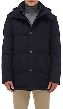 Barneys New York Men's Down-Quilted Cashmere Parka