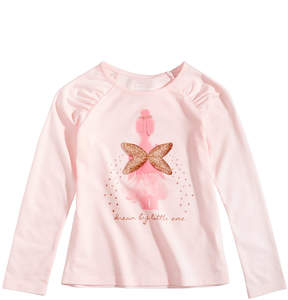 Epic Threads Mix and Match Wings Graphic-Print Long-Sleeve T-Shirt, Little Girls (4-6X), Created for Macy's
