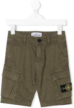 Stone Island Junior cargo shorts